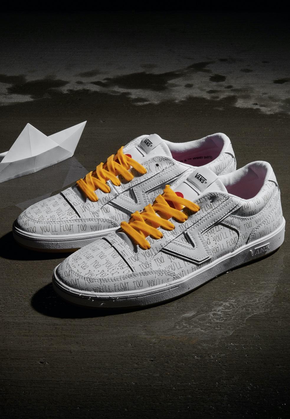 Vans x Horror Lowland CC True White/Spectra Yellow Shoes