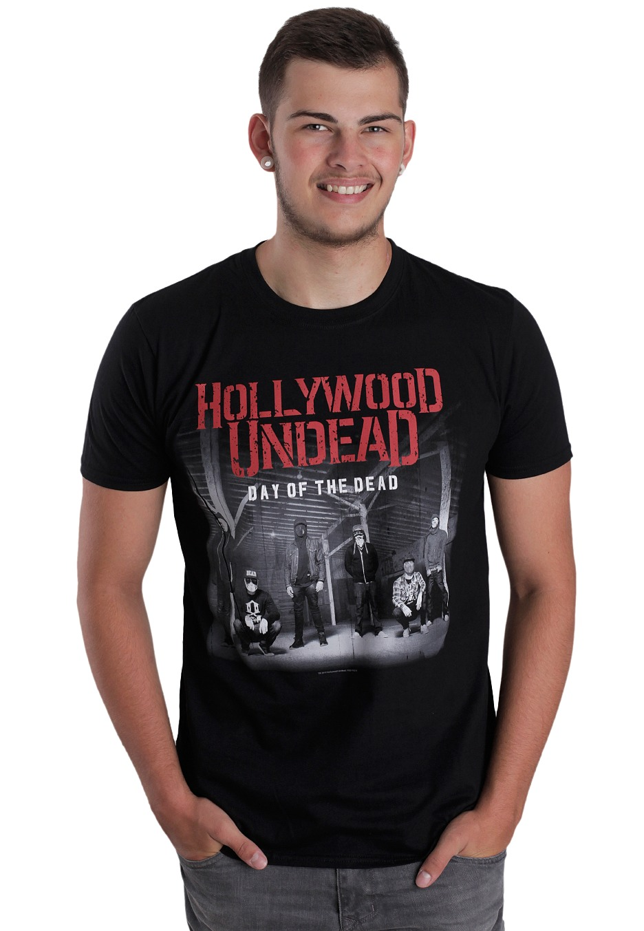 358c45f26989e Hollywood Undead - Day Of The Dead - T-Shirt - Official Crossover Merchandise  Shop - Impericon.com Worldwide