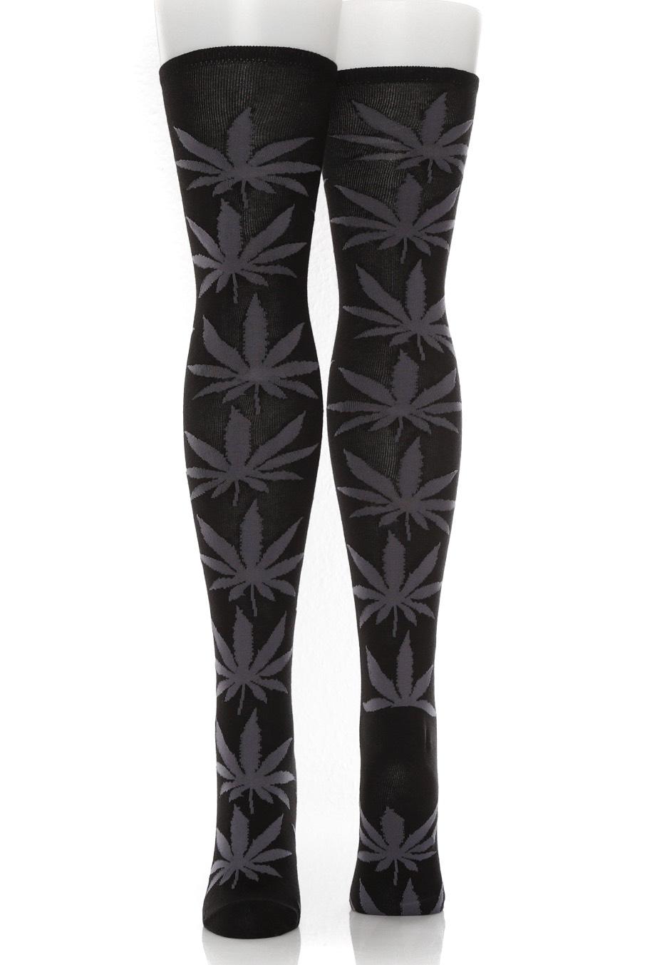 bc1b16609 HUF - Plantlife Thigh High - Zokni - Streetwear Shop - Impericon.com HU