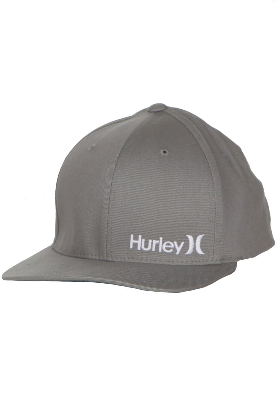 Hurley - Corp Graphite Flexfit - Cap - Impericon.com Worldwide 1426b1c040f