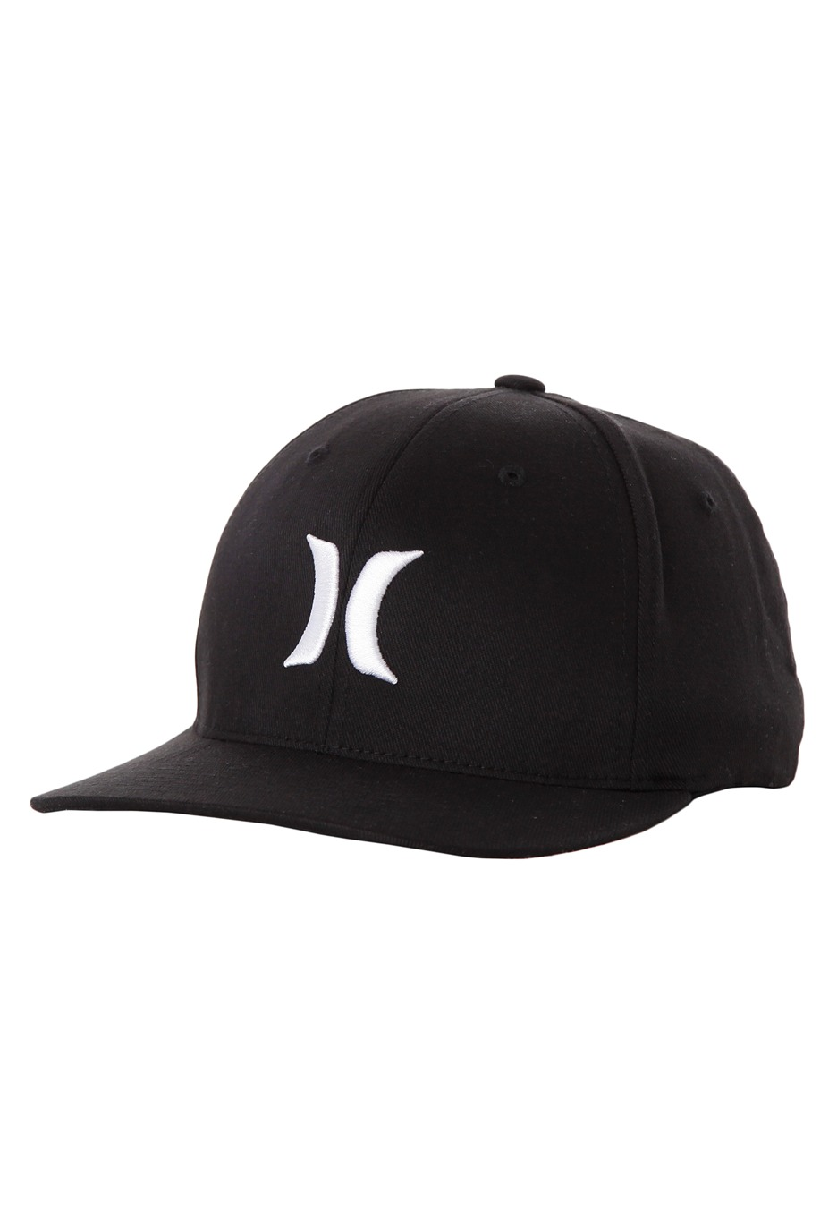 9eeaca9d3ee ... shopping hurley one only black white flexfit cap 6d578 17855
