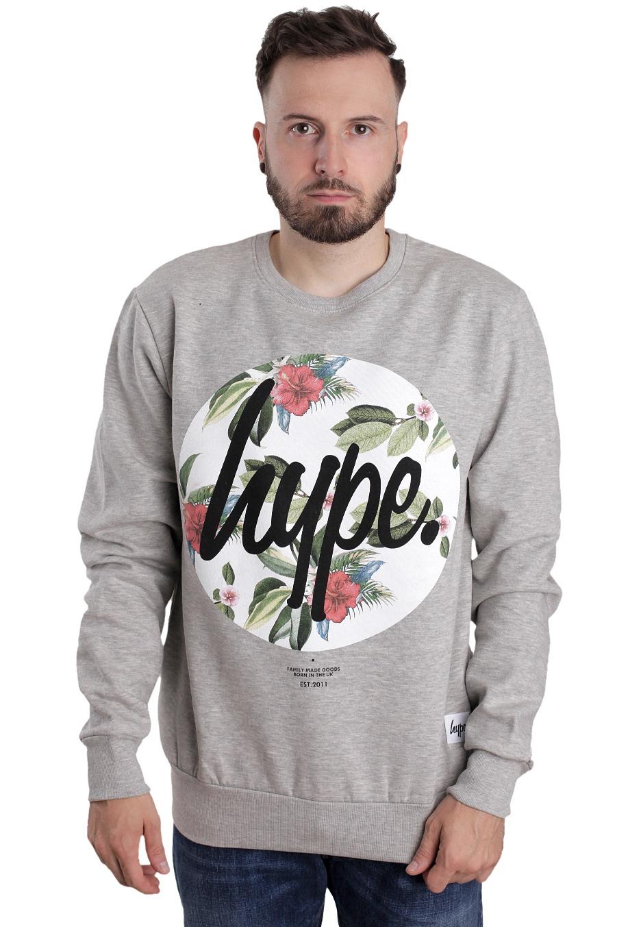 Circle Sweater: Botanics Circle Grey