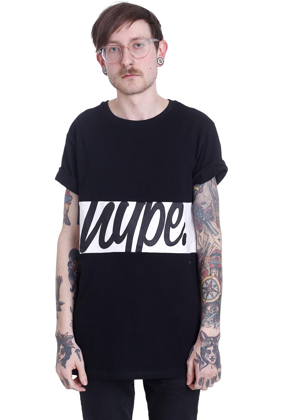 HYPE. - Infill Panel Black White - Tričko - Streetwear obchod ... 55c4e55cb1