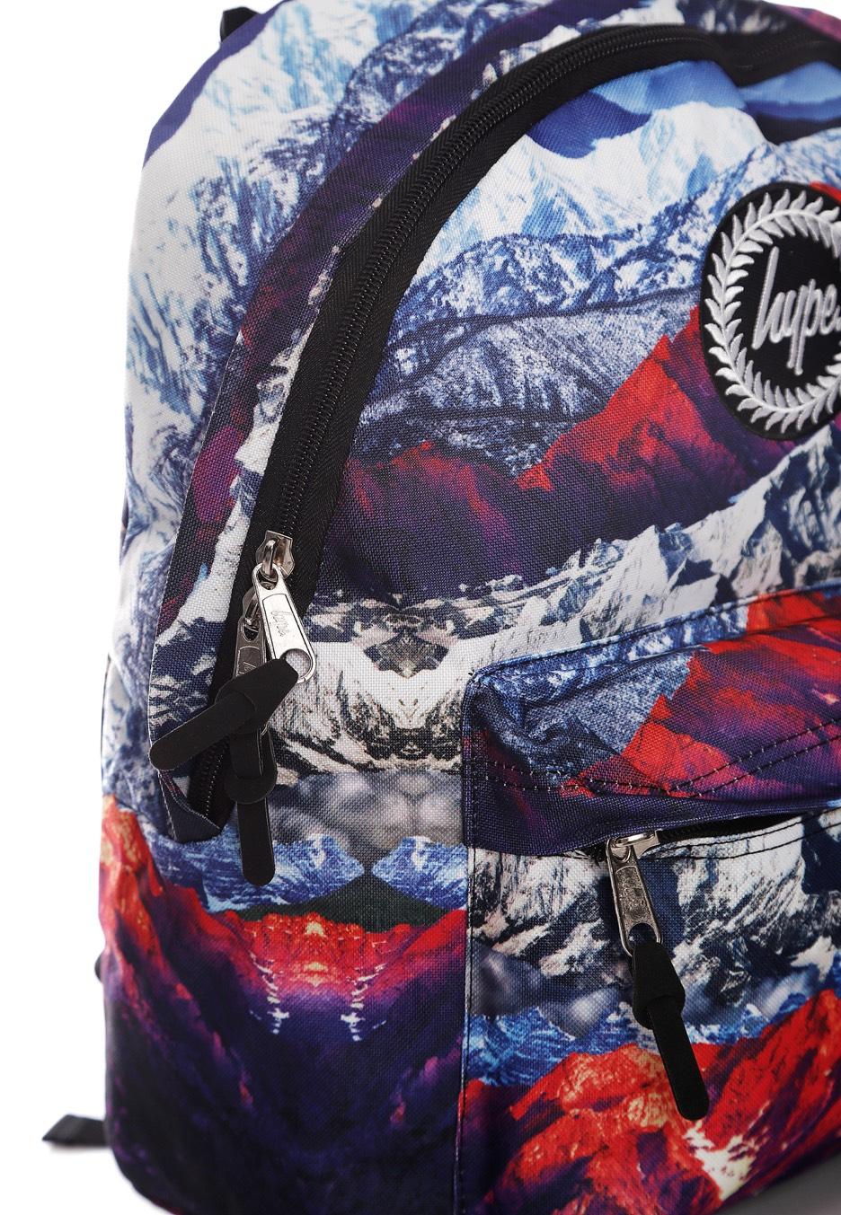 Hype Streetwear Di Negozio Zaino Mountains Multi BnPYZqfB