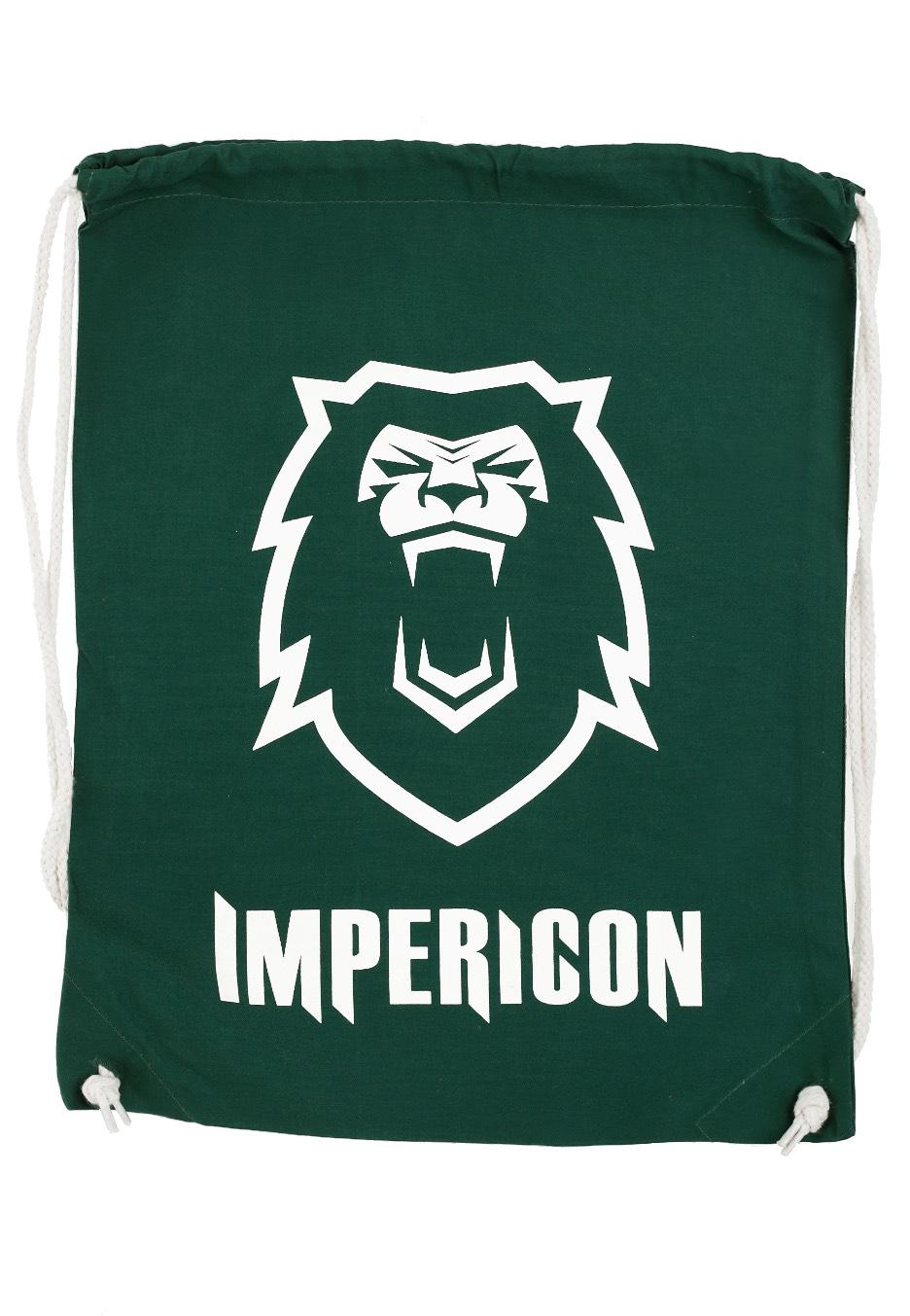 Impericon - Lion Green Drawstring - Rucksäcke