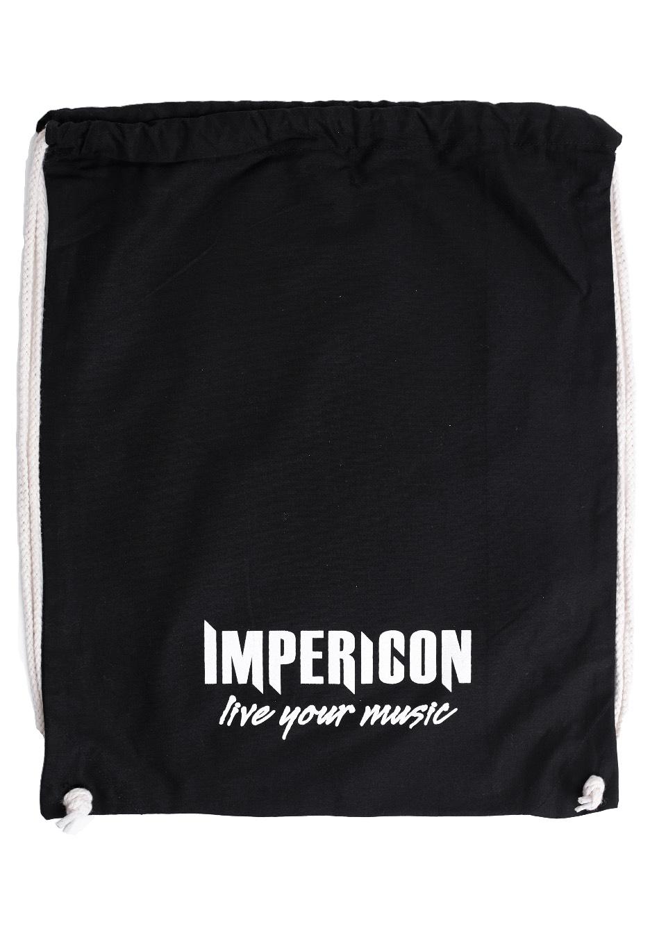 Impericon - Live Your Music Drawstring - Rucksäcke