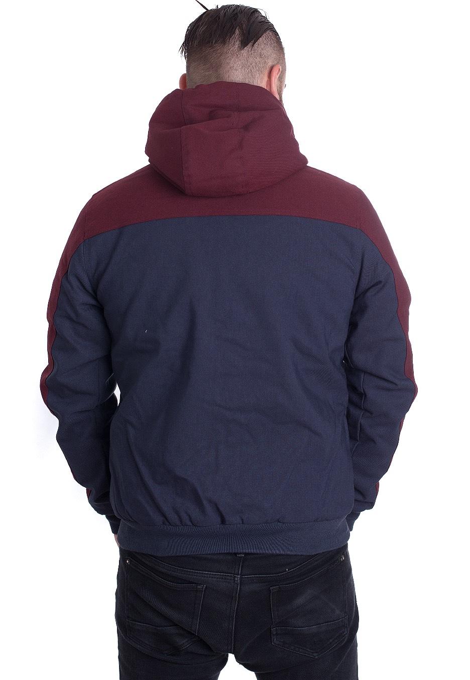 streetwear Veste NavyRed Iriedaily Dock36 Worker Boutique qxYpwRB0