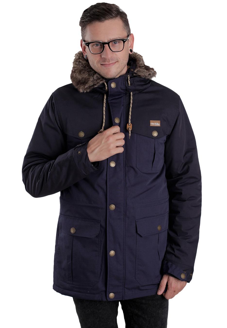 Iriedaily - Eissegler Parka Navy - Bunda - Streetwear obchod -  Impericon.com CZ SK cca132771b