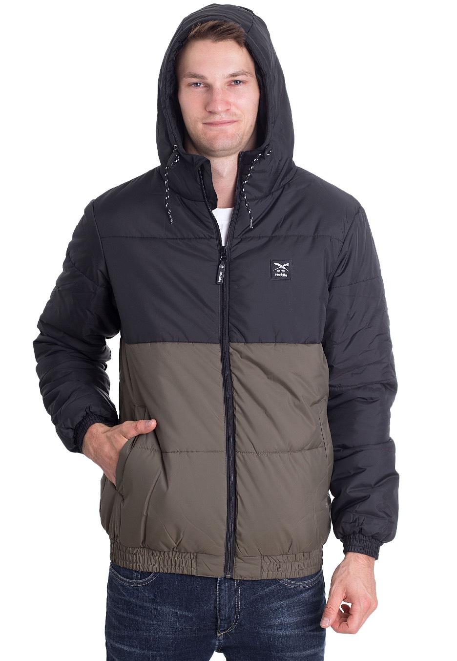 Streetwear Jacket BlackOlive Stagger Iriedaily Shop Hood ZIYqc1