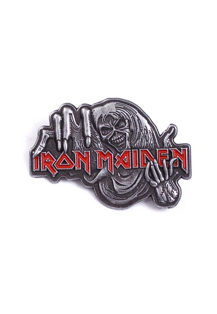 Iron Maiden - Number Of The Beast - Pin - Official Hard And Heavy ...