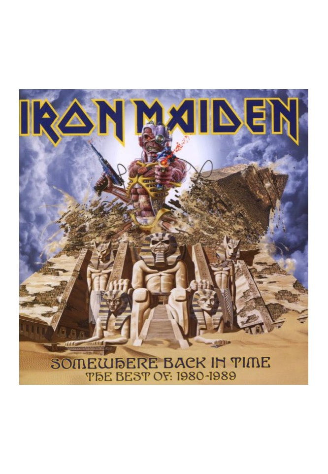 Iron Maiden - Somewhere Back In Time: The Best ...
