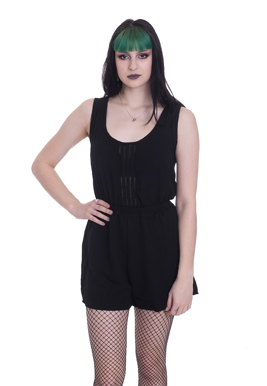 Hosen - Jawbreaker Trim And Black Crepe Jumpsuits  - Onlineshop IMPERICON