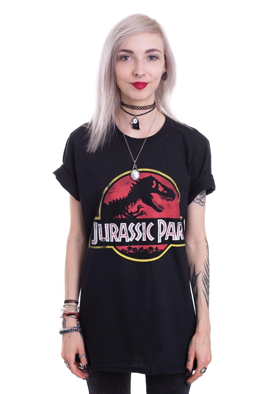 Jurassic Park Logo T Shirt Impericon Com De