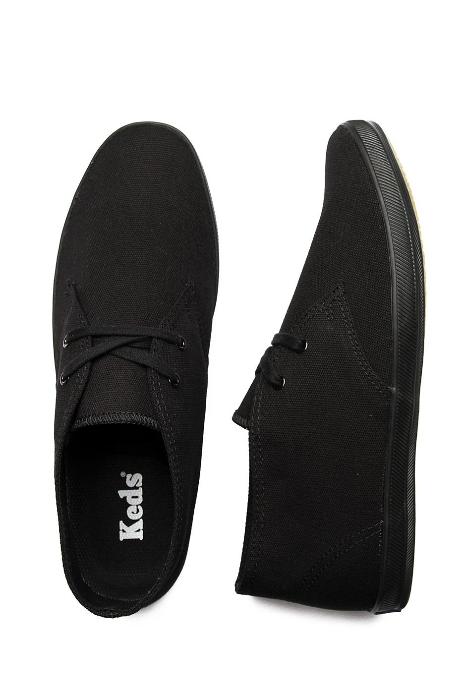 ea6000e07a14d1 Keds - Chukka Black Black Canvas - Shoes - Impericon.com US