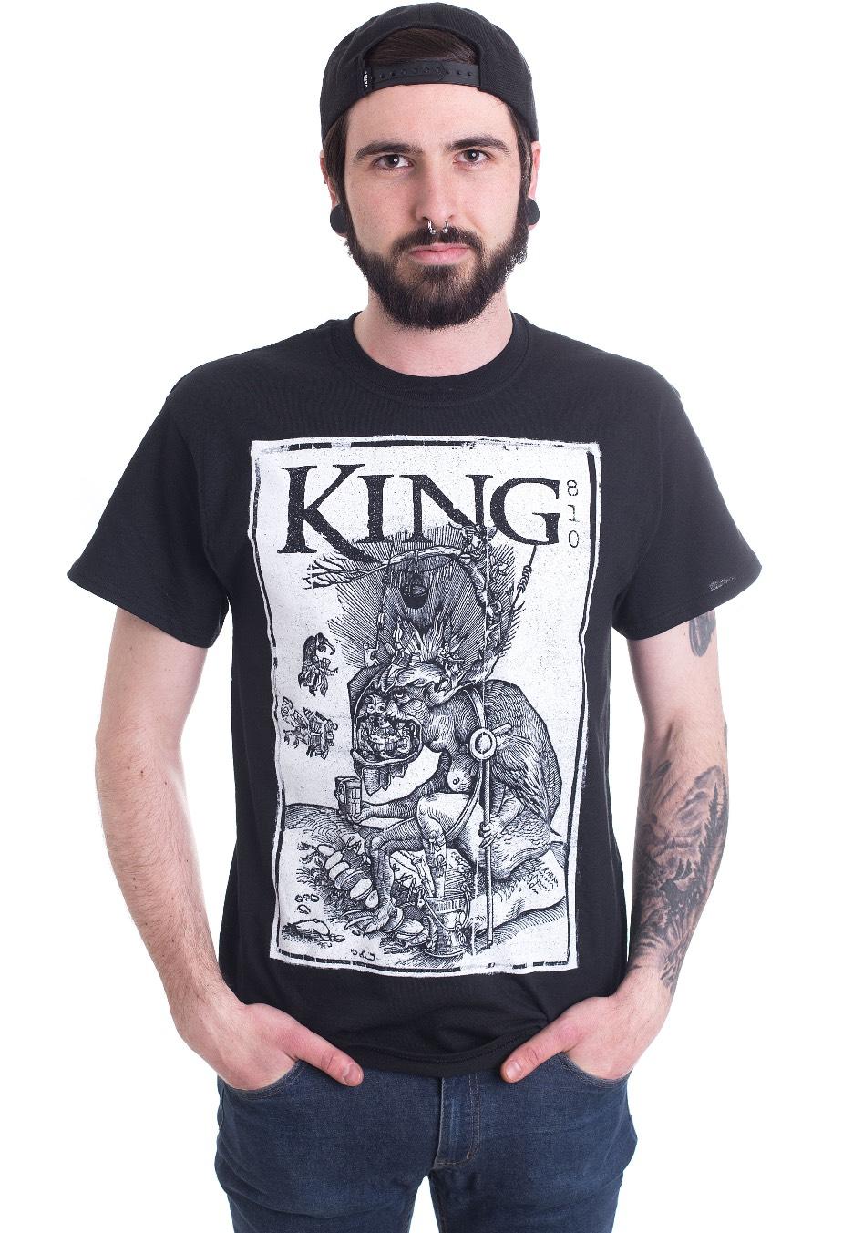 King 810 Demons T Shirt Offizieller Grunge Merchandise Shop