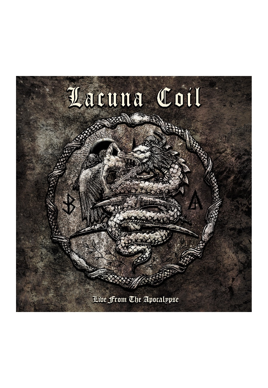 Lacuna Coil - Live From The Apocalypse Ltd. - CD/DVD
