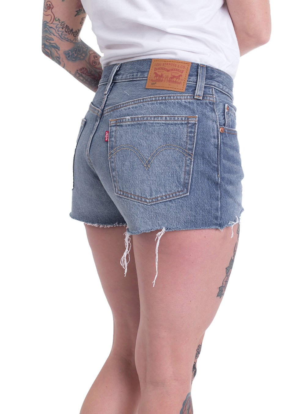 Levis 501 Back To Your Heart Shorts Streetwear Shop
