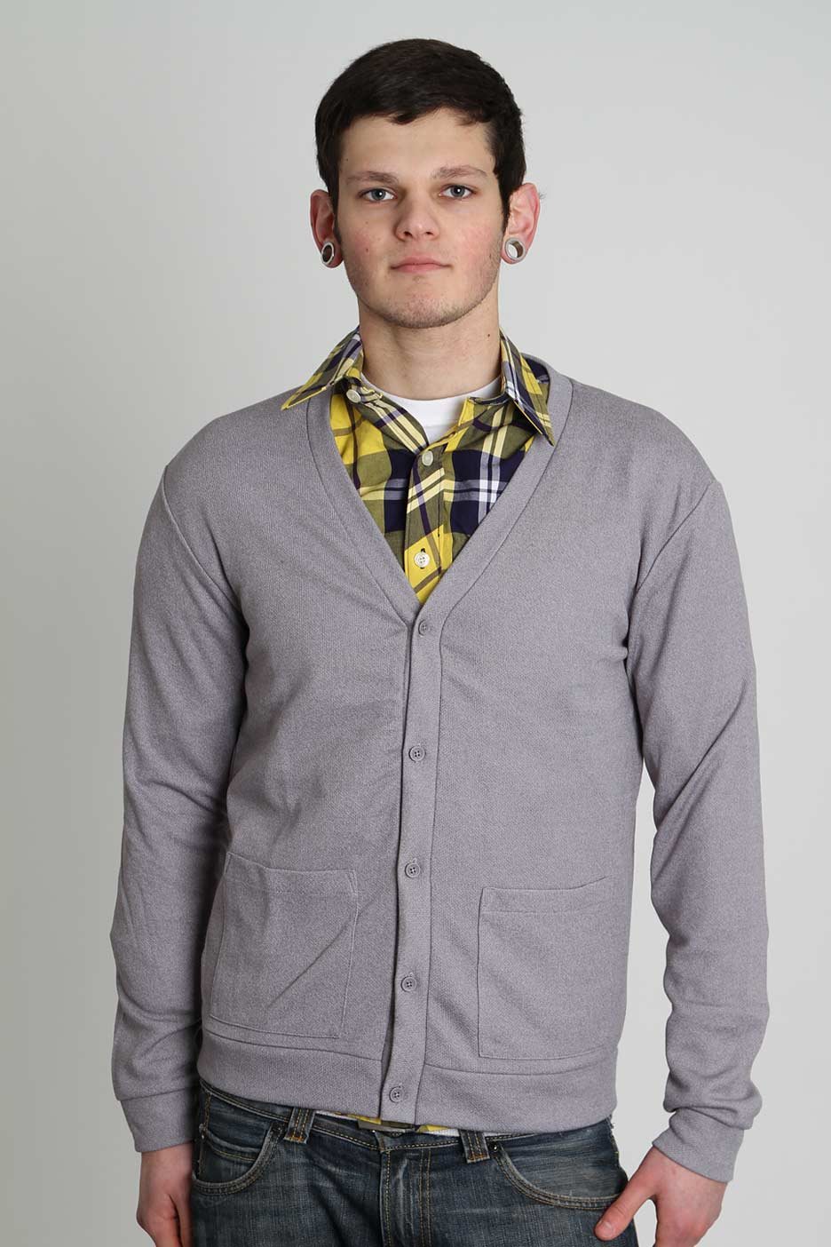 Cheap Monday - Pete Grey - Cardigan - Impericon.com Worldwide
