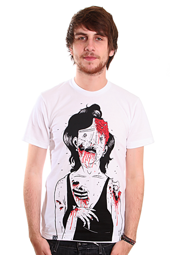 Drop Dead - Mum White - T-Shirt - Impericon.com WorldwideDrop Dead Clothing Ghost