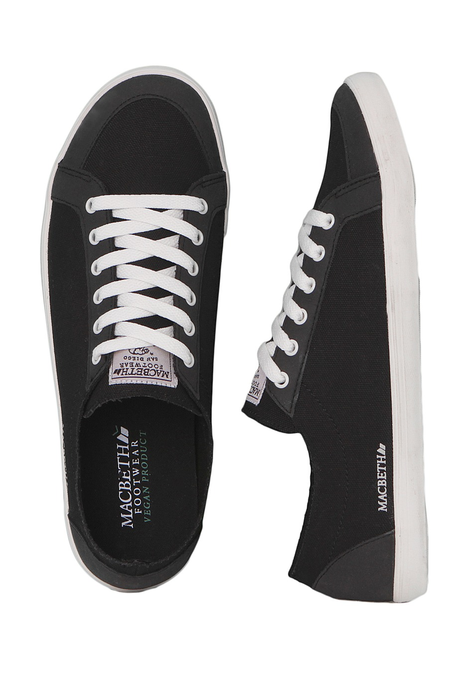 Black/Cement - Girl Shoes - Impericon