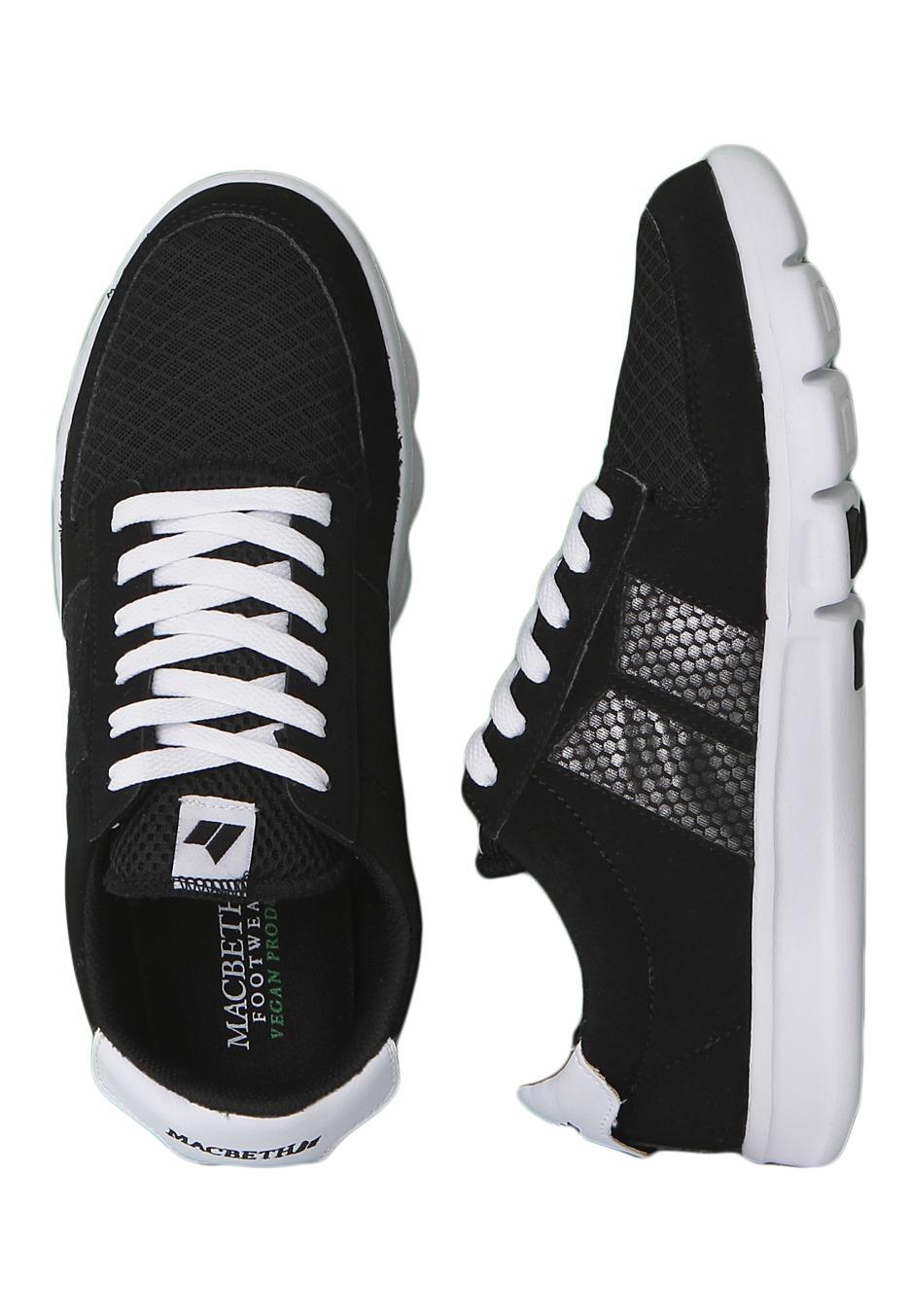 . Macbeth   Bradley Black White   Shoes   Impericon com Worldwide