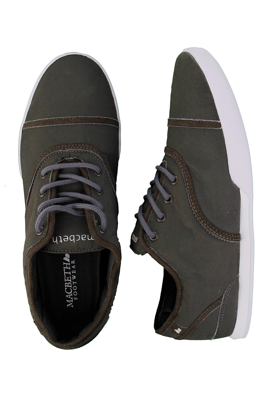 . Macbeth   Gatsby Dark Grey White   Shoes   Impericon com Worldwide