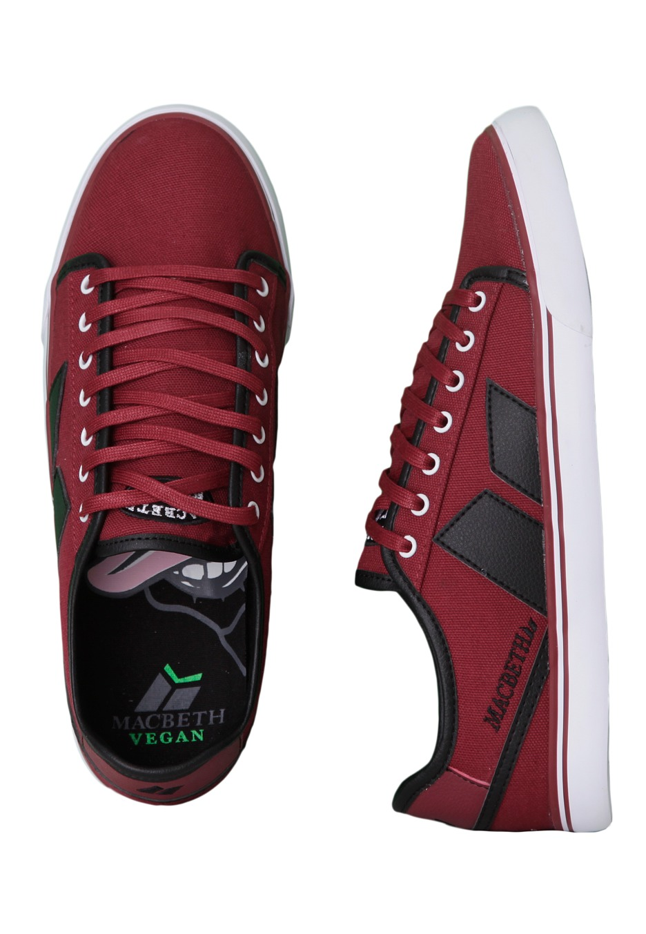 . Macbeth   James Ox Blood Black   Shoes   Impericon com Worldwide