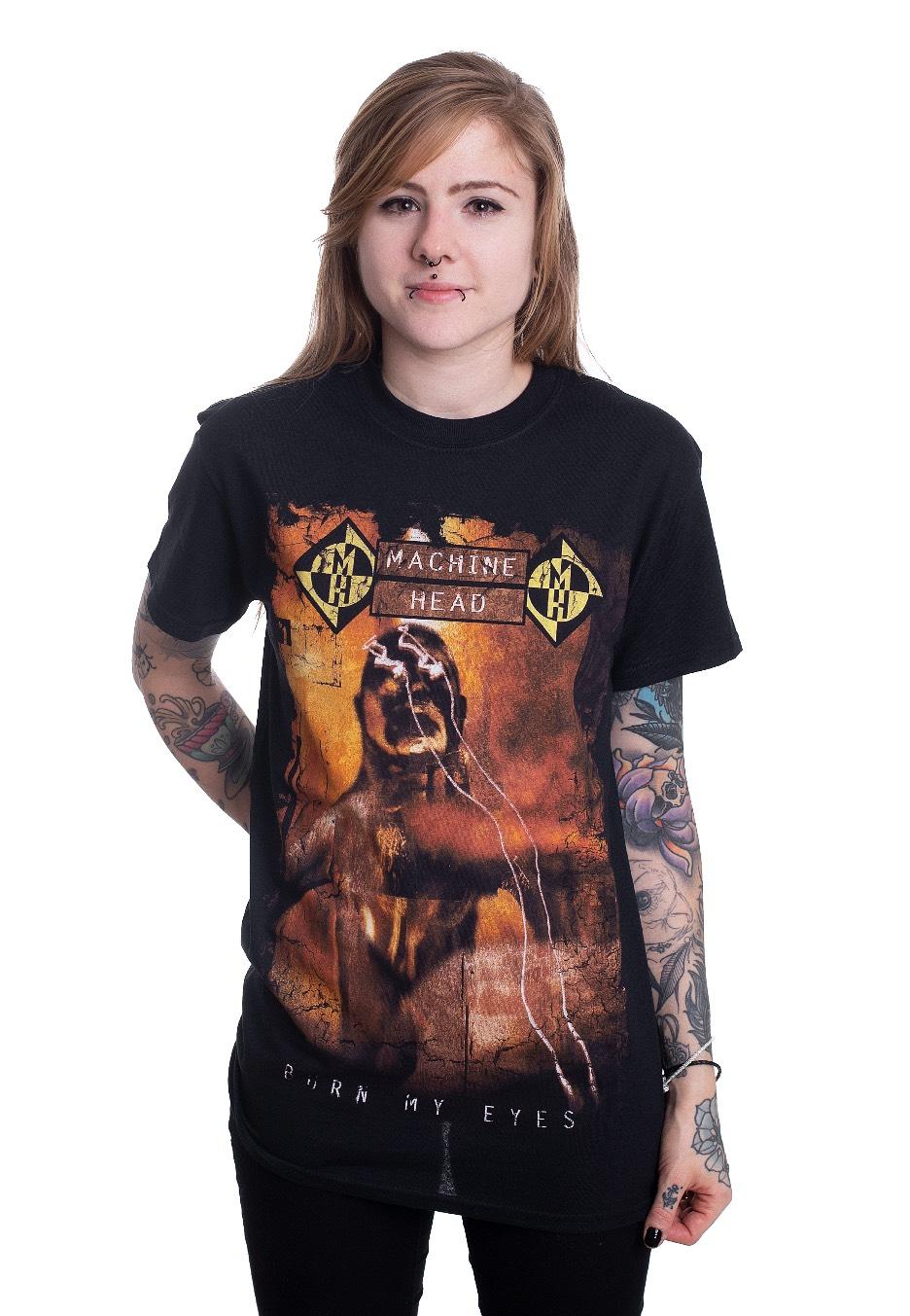 Cover MACHINE HEAD T-Shirt Burn my Eyes