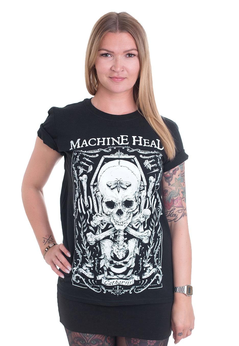 Machine Head Clock Grey Catharsis T-Shirt