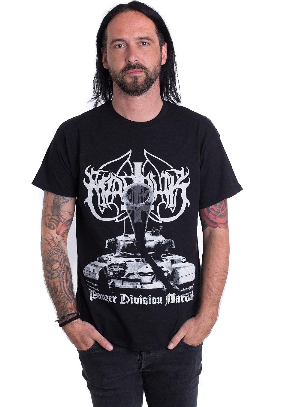 Marduk Shirts & Hemden Panzer Division T-shirt Fanartikel & Merchandise