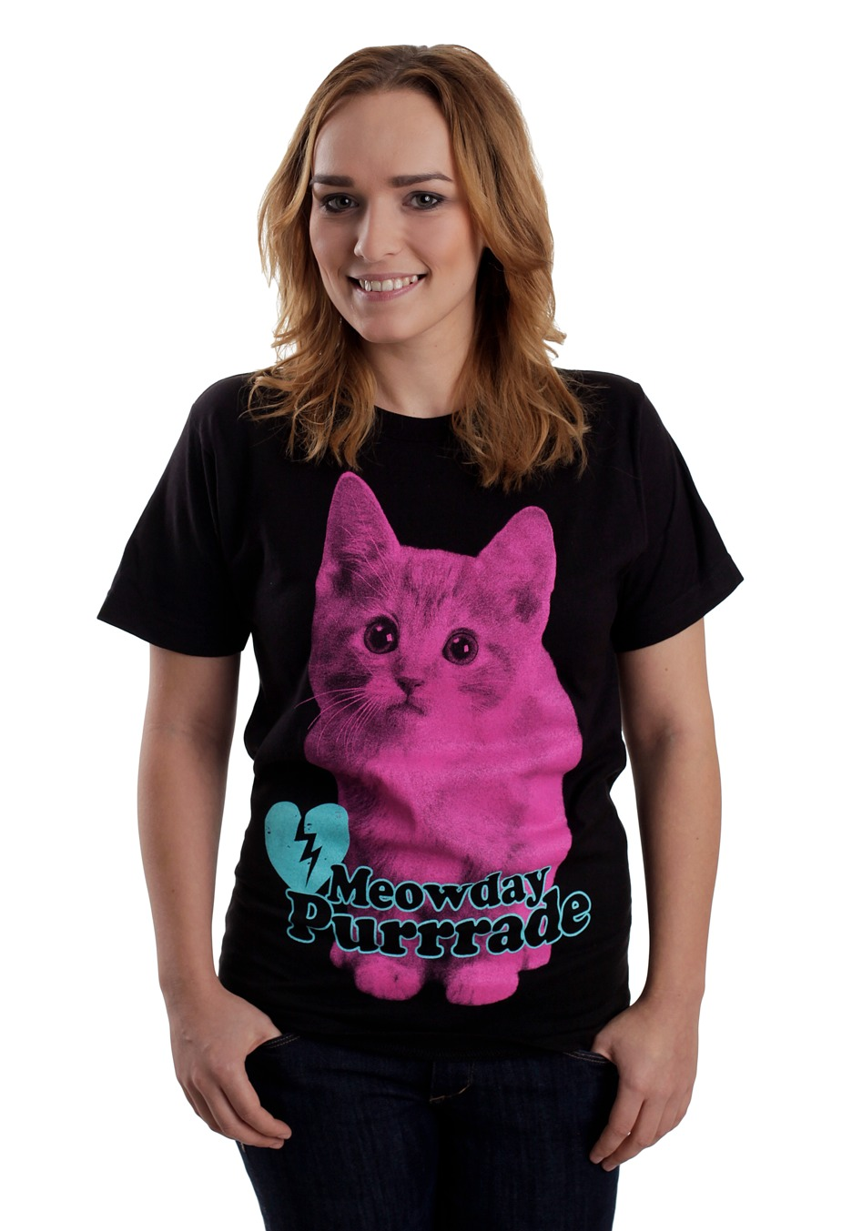 mayday parade meowday purrrade t shirt official emo