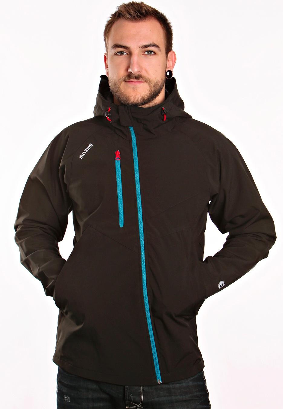 024fc7b1a6c8 Mazine - Steely Light Black - Jacket - Streetwear Shop - Impericon ...