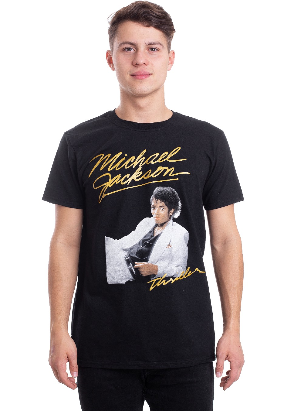 eb96771e4d99 Michael Jackson - Thriller White Suit - T-Shirt - Official Pop Merchandise  Shop - Impericon.com AU