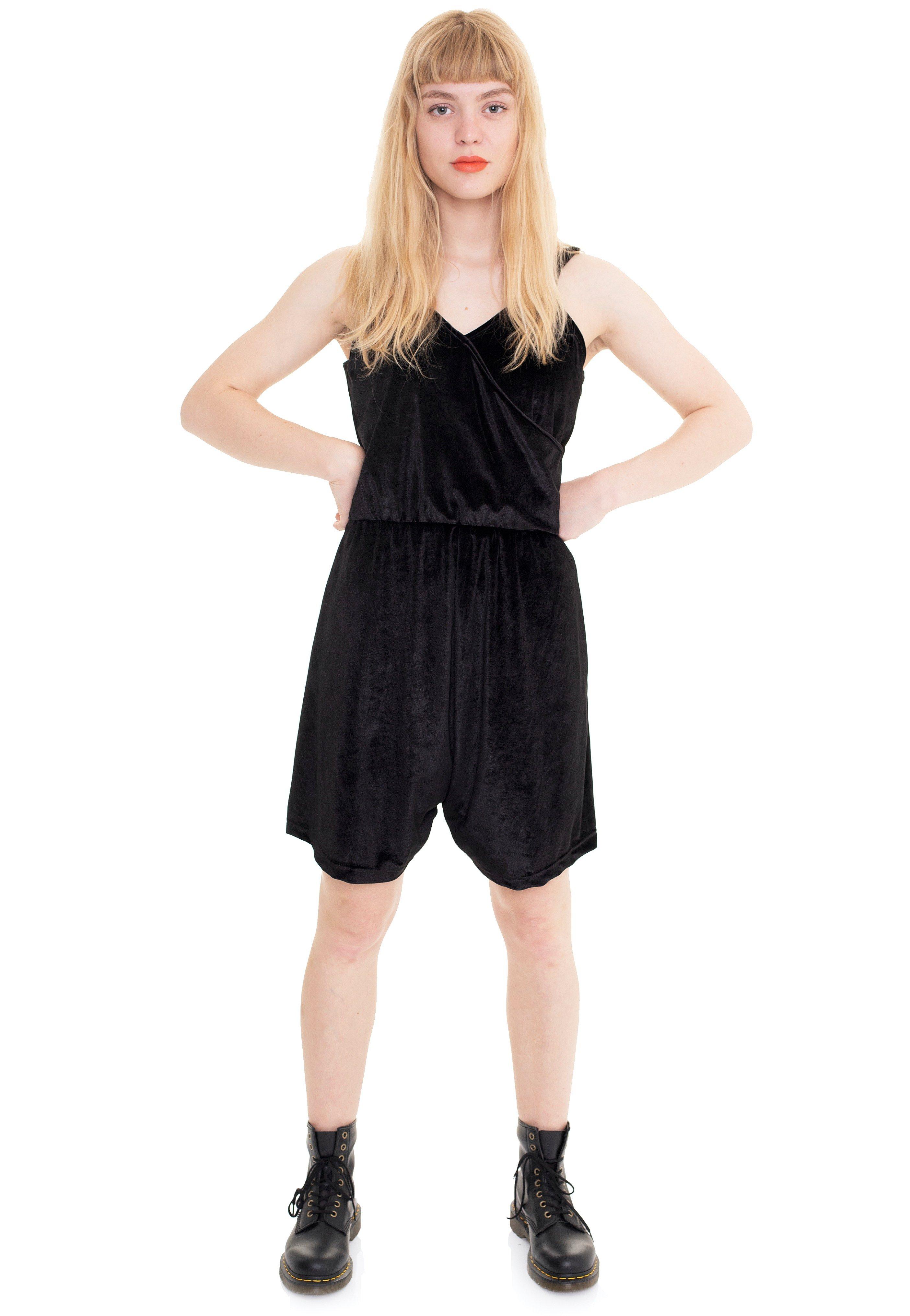 Hosen - Vixxsin Minerva Playsuit Black Jumpsuits  - Onlineshop IMPERICON