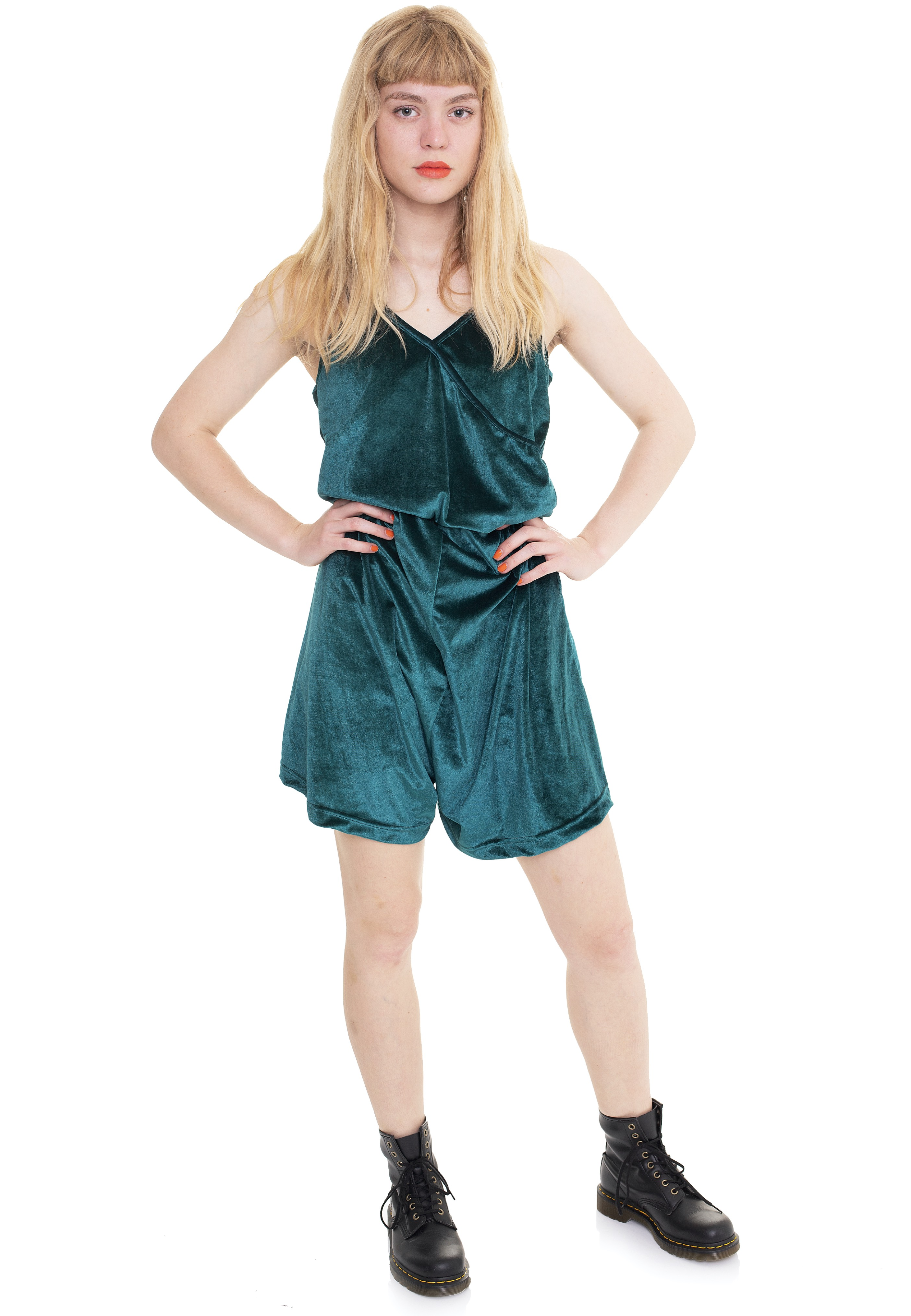 Hosen - Vixxsin Minerva Playsuit Green Jumpsuits  - Onlineshop IMPERICON
