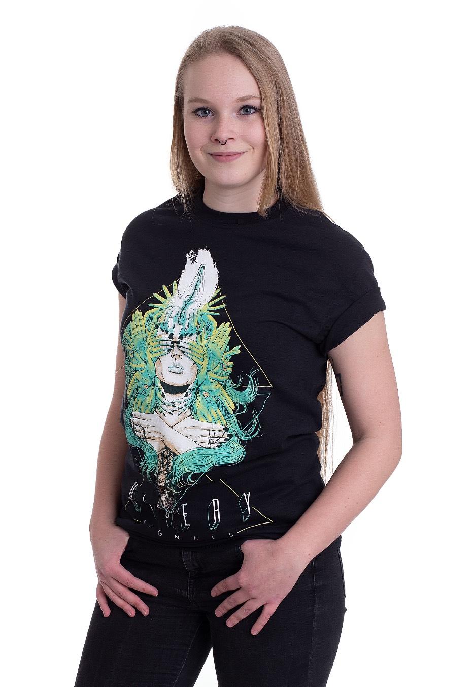 7f00e3bf Misery Signals - Girl Hand - T-Shirt - Impericon.com AU