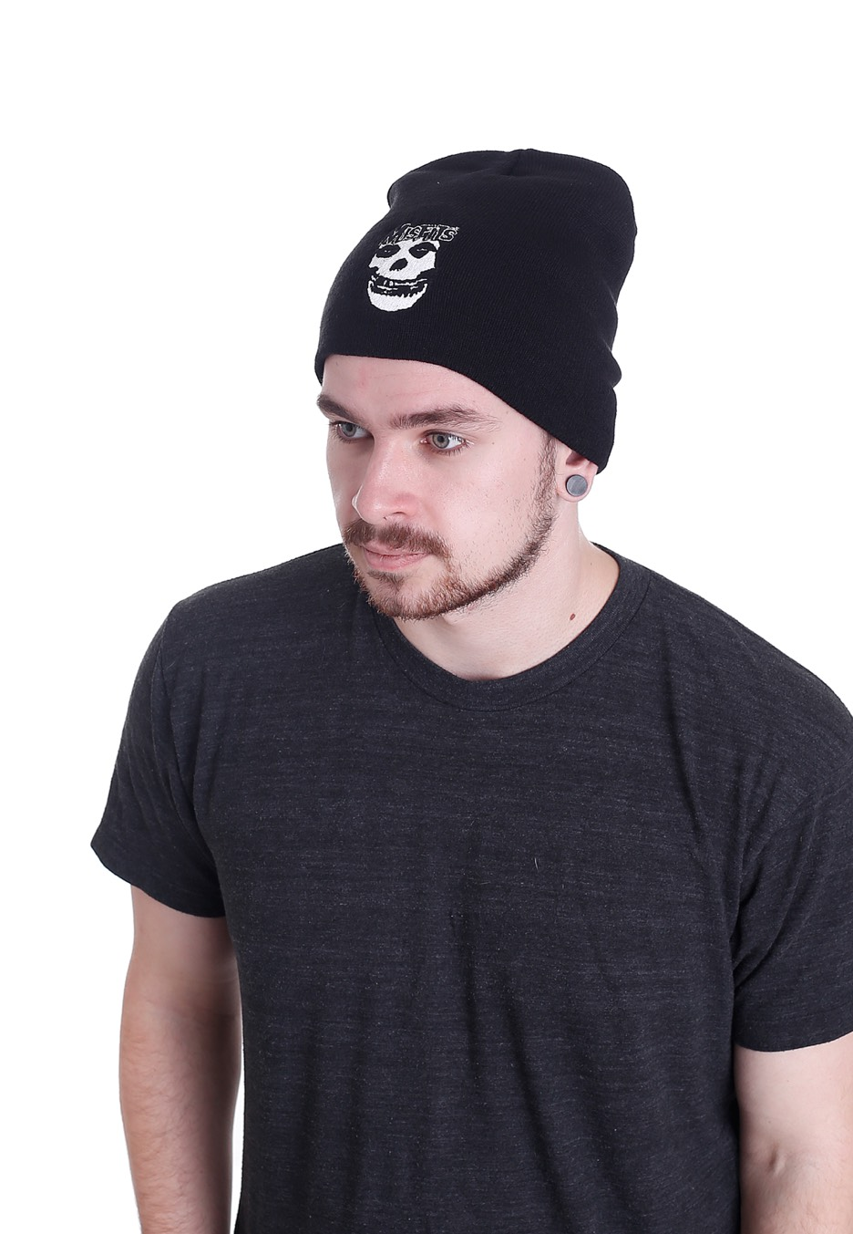 Misfits - Skull - Beanie - Official Punk Merchandise Shop ... 015d2a5238f