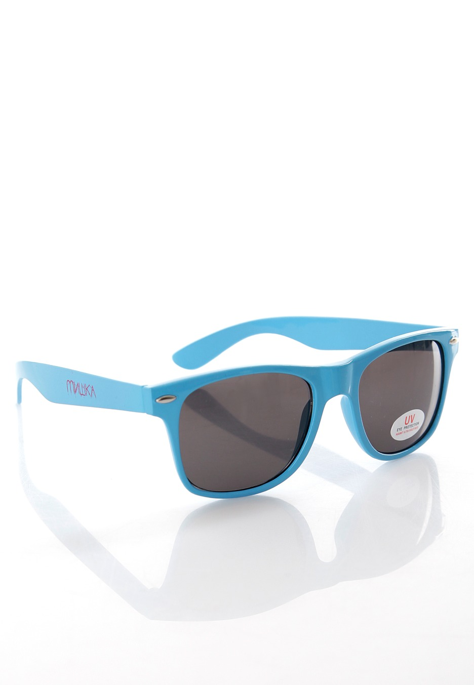 Blue Sunglasses  mishka cyrillic gore blue sunglasses streetwear