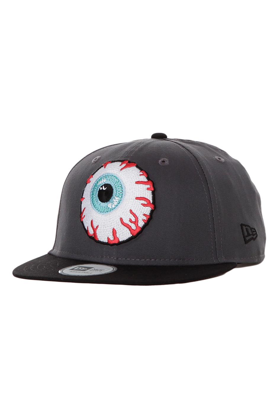 20be67e5296 Mishka - Keep Watch New Era Grey Black Snapback - Cap - Streetwear Shop -  Impericon.com UK