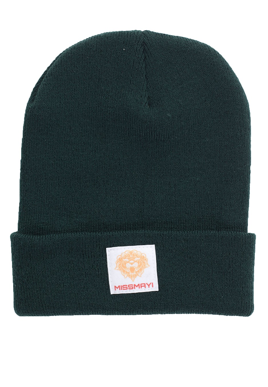 Miss May I - Lion Patch Bottle Green - Beanies
