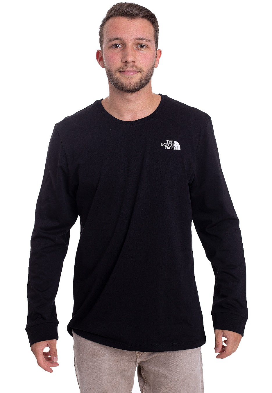 The North Face - Simple Dome TNF Black - Longsleeves