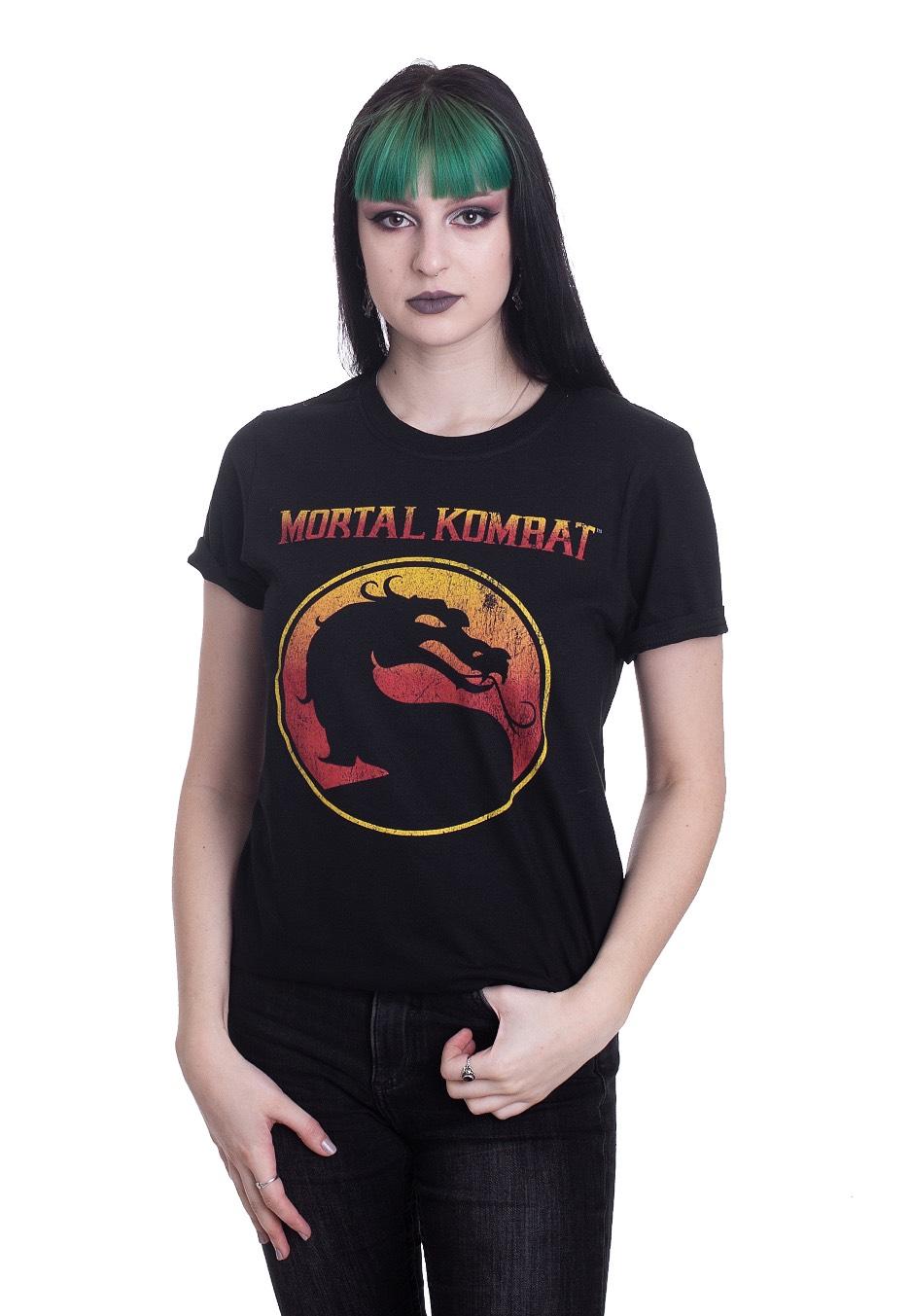 Mortal Kombat Logo T Shirt Impericon Com Worldwide
