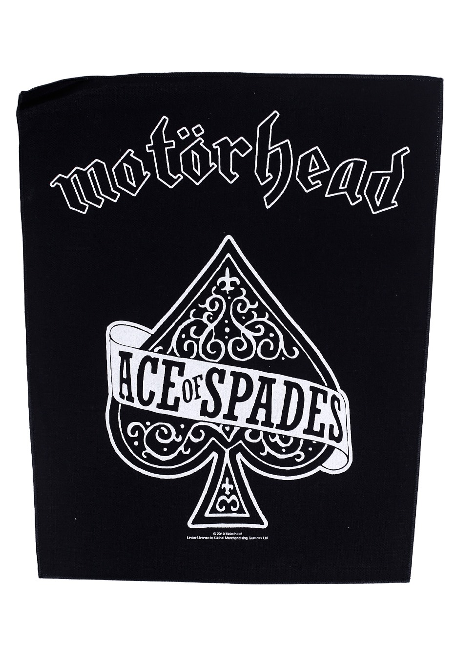 mot rhead ace of spades backpatch official rock merchandise shop worldwide. Black Bedroom Furniture Sets. Home Design Ideas