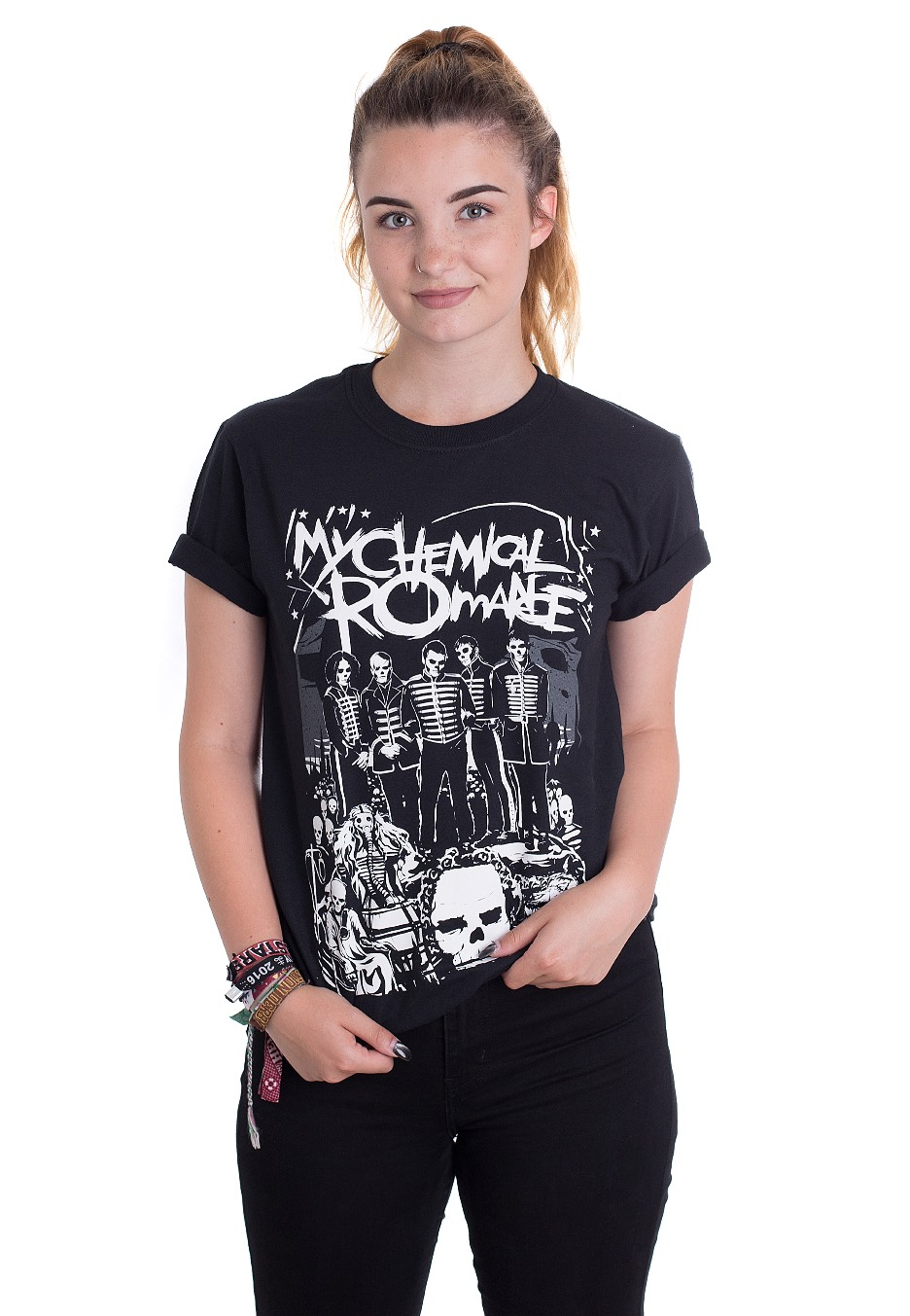 My Chemical Romance Dead Parade T Shirt Official Emo