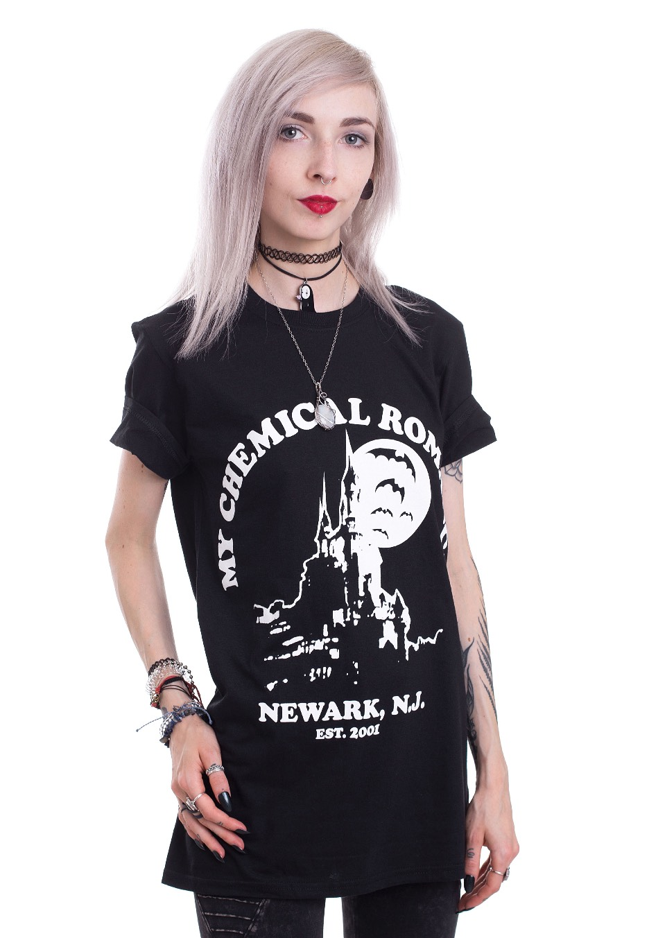 My Chemical Romance Haunted Castle T Shirt Official