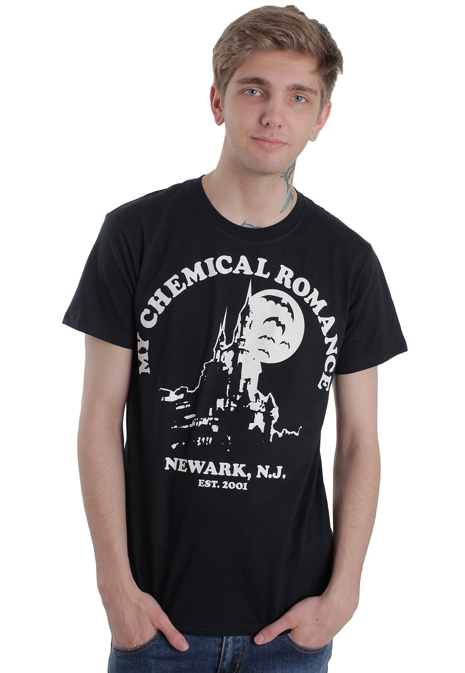 My Chemical Romance Haunted Castle T Shirt Official Emo
