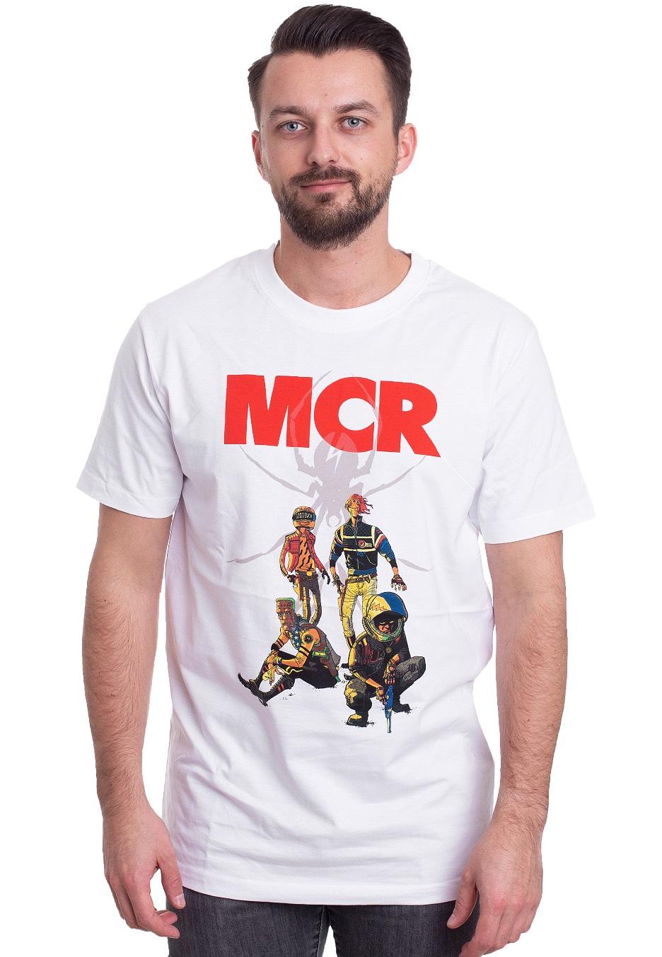 ba34df54 My Chemical Romance - Killjoys Pinup White - T-Shirt - Official Alternative  Rock Merchandise Shop - Impericon.com US