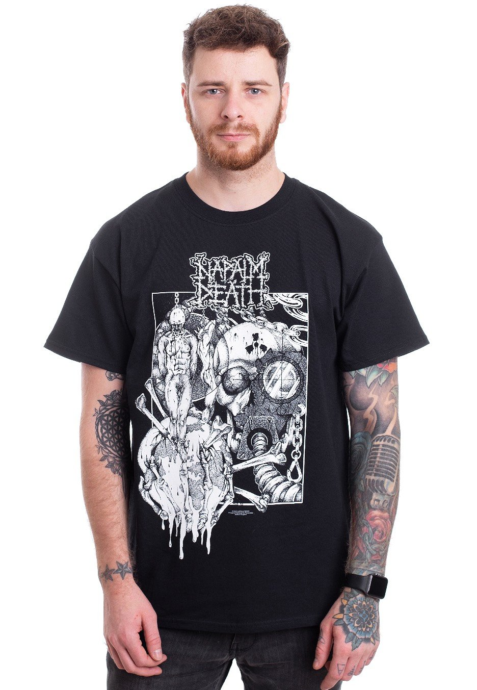 Napalm Death /'Harmony Corruption/' T-Shirt NEW /& OFFICIAL