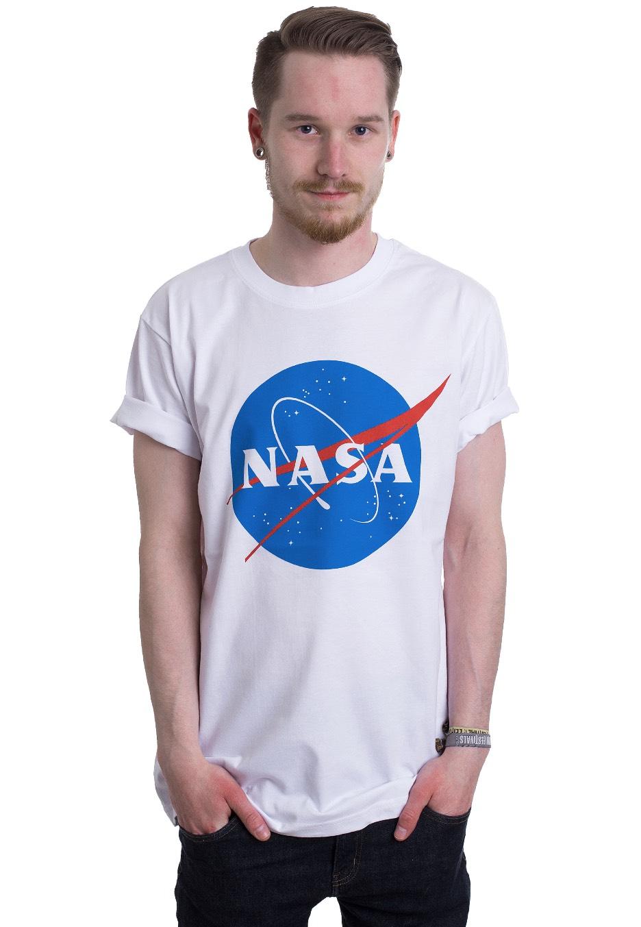 NEW /& OFFICIAL! T-Shirt NASA /'Insignia Logo/' Black