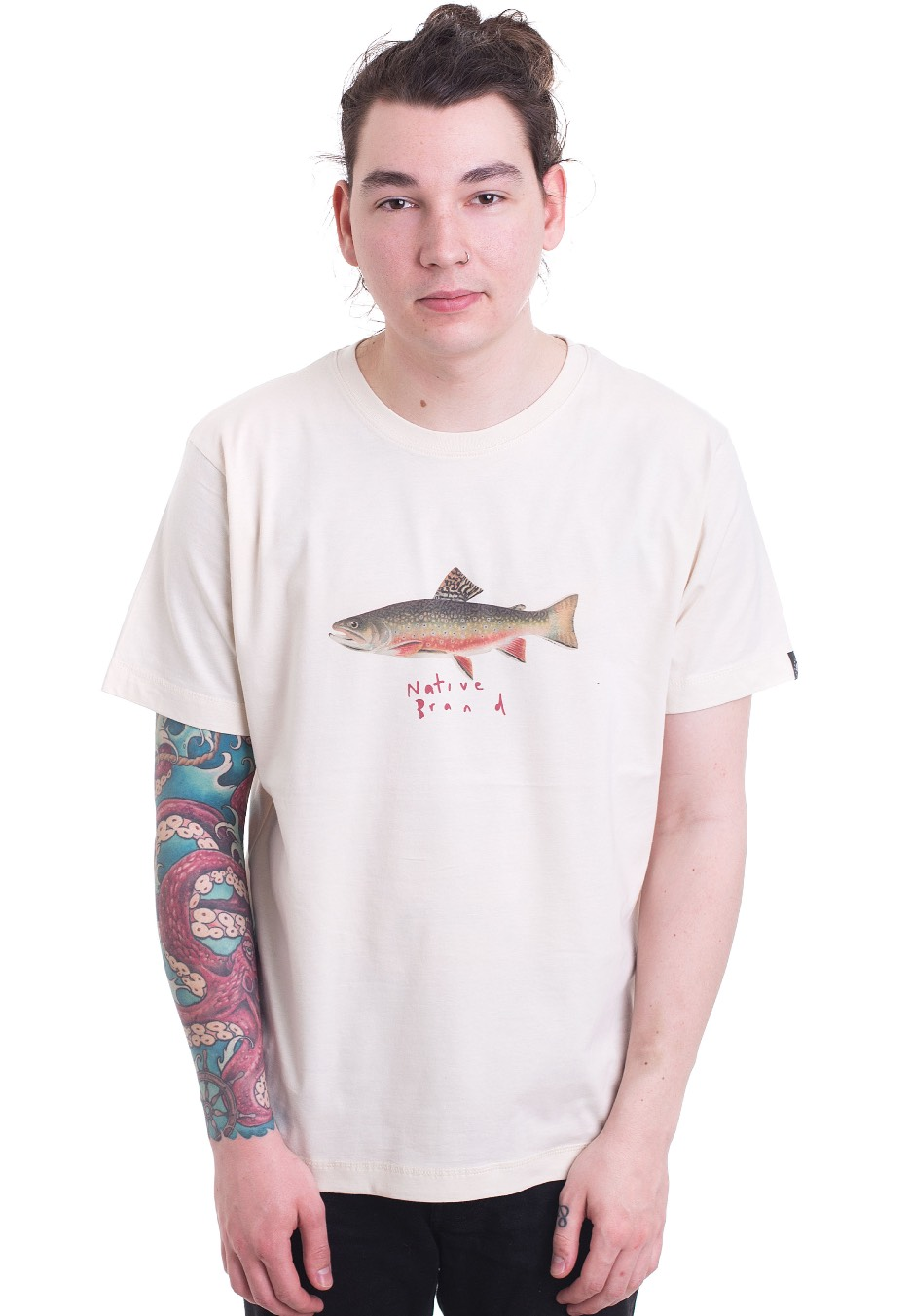 11cd5443 Native Brand - Fish Tales Natural - T-Shirt - Streetwear Shop -  Impericon.com AU